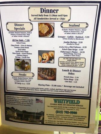 Zephyrhills, FL: Two Minutes Restaurant