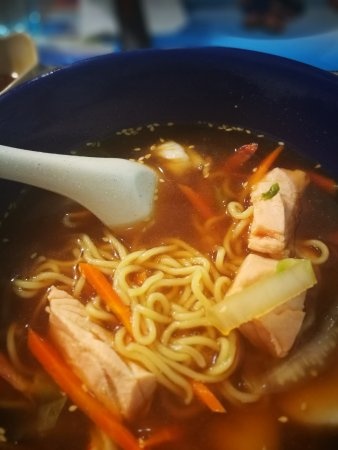 Sushi Masa : Bowl of chicken noodle soup