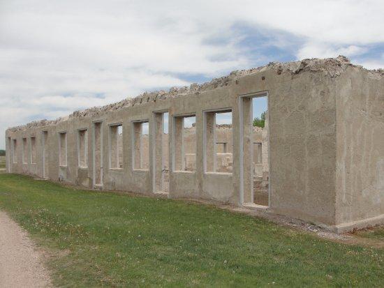 Fort Laramie, WY: Remains of Barracks