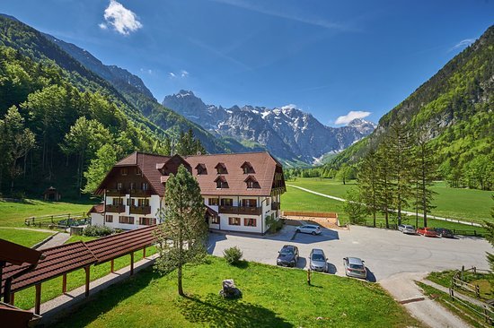 Solcava, Slovenia: Hotel Plesnik, Nature park Logar Valley with Kamnik Savinja Alps