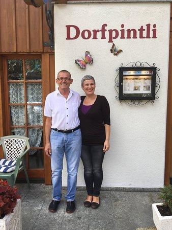 Iseltwald, Switzerland: Joe+Elena Wyrsch.