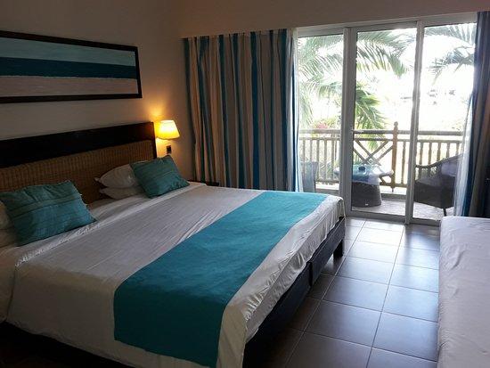 Pearle Beach Resort & Spa: Sehr geräumig und sauber