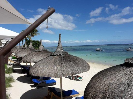 Pearle Beach Resort & Spa: Ausblick Terrasse