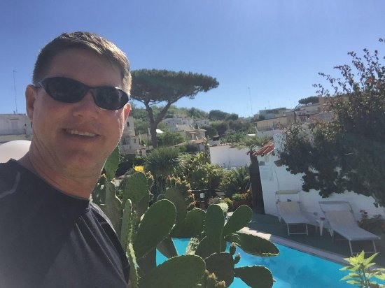 Hotel Villa Janto: The pool area