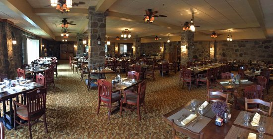 Pembroke, VA: The main dining room.
