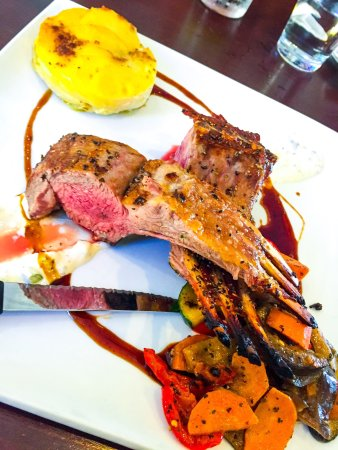 Subiaco, Australia: Rack of Lamb
