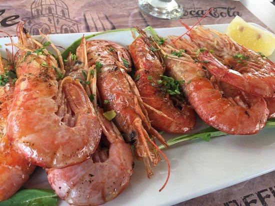 Cele: Fresh prawns