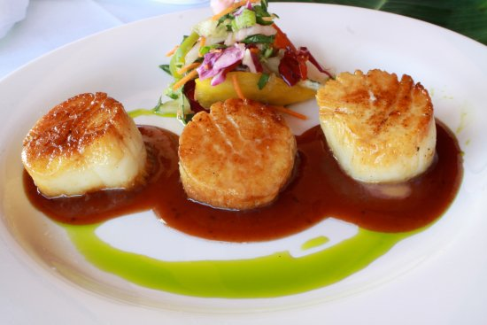 South Beach Grille: Pan Seared Scallops!