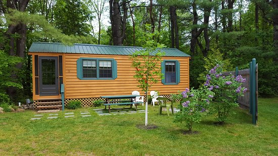 Silver lake park campground cabins belmont nh 2017 for Cabin camping new hampshire