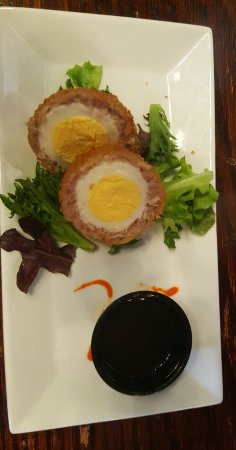 Lancaster County Food Tours: Amazing scotch eggs