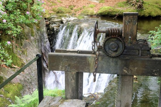 Machynlleth, UK: The mail tap