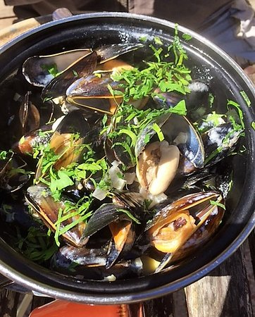Little Eccleston, UK: Moules!