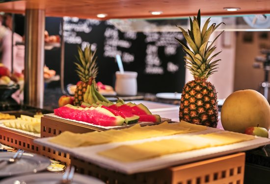 Frauenau, Γερμανία: Frühstücksbuffet