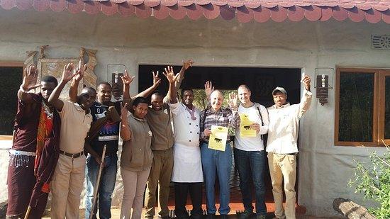 Osupuko Lodge: Despedida
