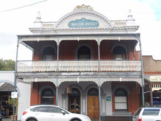 Maldon, Australia: uno degli edifici meglio conservati