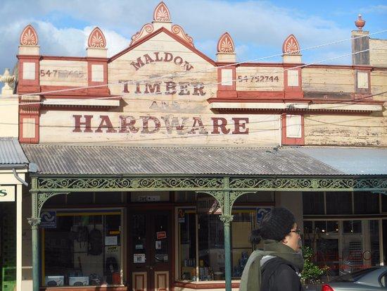 Maldon, Australia: tipico edificio