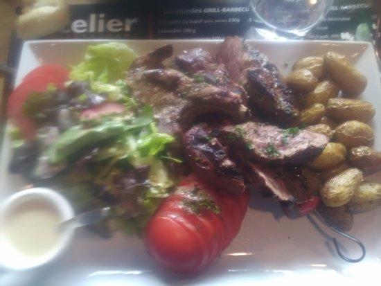 Ploumagoar, Prancis: assiette du viandard
