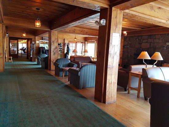 Lutsen, MN: The lobby