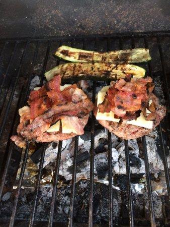B&B Villa Amaranta: BBQ grill for guests