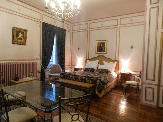 Château de Labessiere : Chambre Parc