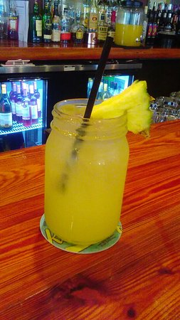 Jensen Beach, FL: Great pineapple jack drink