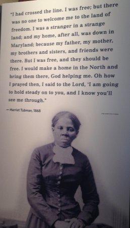 Harriet Tubman quote - Picture of Harriet Tubman Underground ...