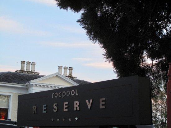Rocpool Reserve hotel & Chez Roux: Entrance