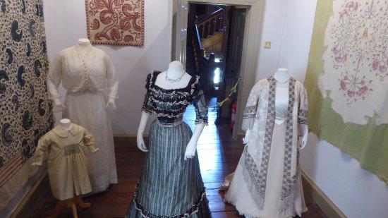 Padiham, UK: Costume display