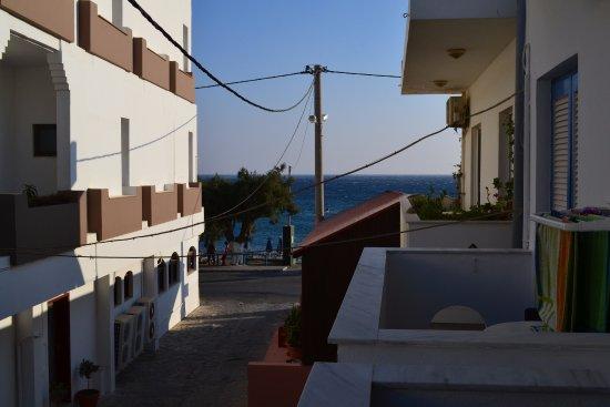 Alianthos Beach Hotel: výhled z pokoje
