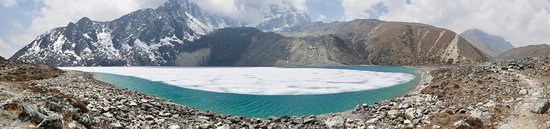 13-Day Guided Trekking Tour to the Everest Base Camp: Taboche Tsho Panorama (Gokyo)