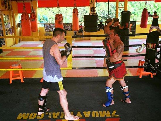 Chak Phong, Thailand: L allenamento