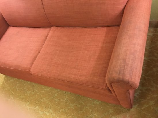 Fairburn, จอร์เจีย: Even the sofa was stained to be un useful.
