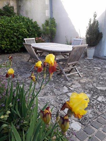 Le Clos du Haut Villiers : Terrace