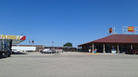 Black River Falls, WI: Truck Stop Dennys