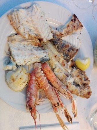 Cappella Maggiore, Włochy: grigliata di pesce, molto buona e fresca