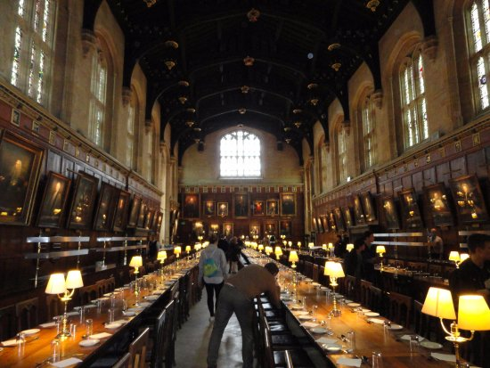 Harry potter shooting locations glyd for Salle a manger harry potter