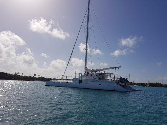 Bayahibe, جمهورية الدومينيكان: catamaran 25m