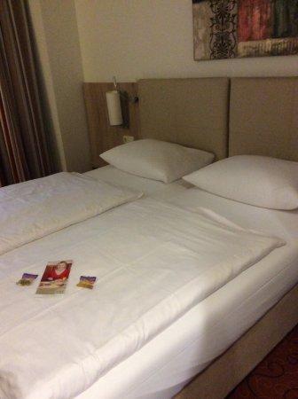 Novum Hotel Garden Bremen: Decent pillows!
