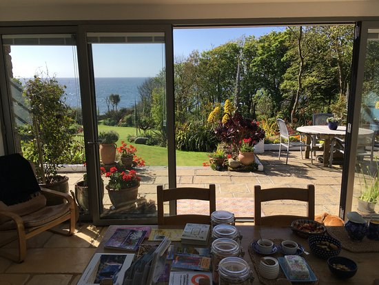 St Buryan, UK: View from Breakfast