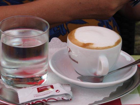 Feistritz im Rosental, Østerrike: Morning coffee
