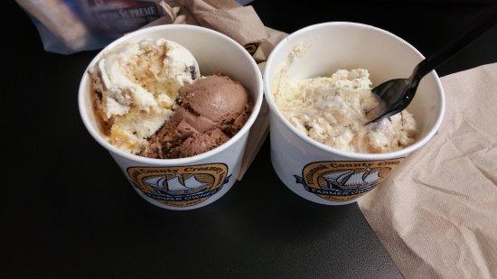 Tillamook, Oregón: Yummy ice cream!