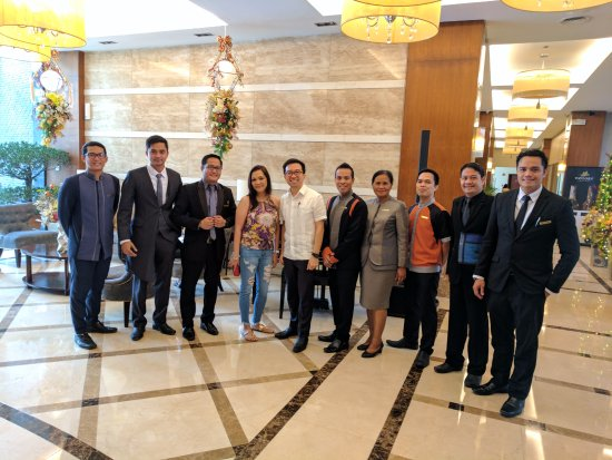 The Avenue Plaza Hotel: The amazing staff at Avenue Plaza, The very best in Bicol!