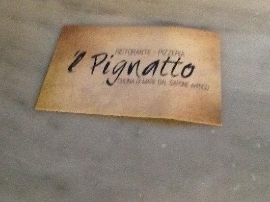 San Lorenzo Nuovo, Italy: 'l Pignatto