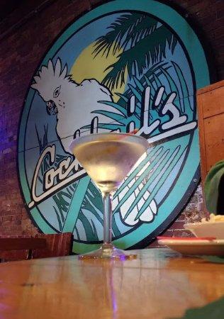 Biddeford, ME: Martini at Mulligan's