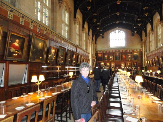 Christ Church College Dining Hall Made Famous In Harry