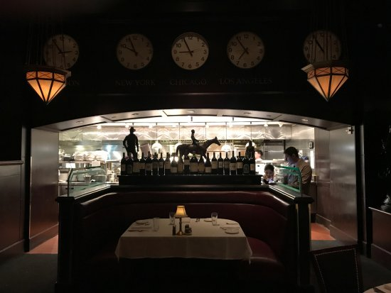The Capital Grille: From the entrance toward the bar...