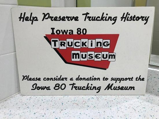 Walcott, IA: Iowa 80 Trucking Museum
