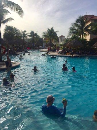 Sandos Playacar Beach Resort: Posto incantevole veramente hotel 5 stelle