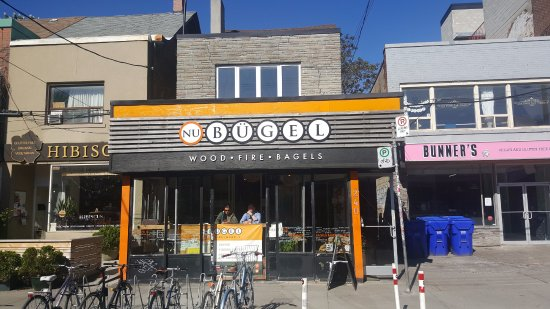 Photo of Cafe Nu Bugel at 240 Augusta Ave, Toronto M5T 2L7, Canada