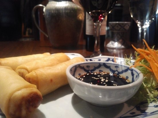 Baan Thai Ballsbridge: Duck rolls